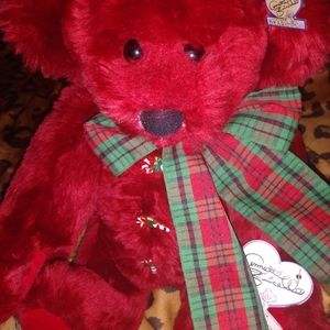 Annette Funicello xlg Christmas bear